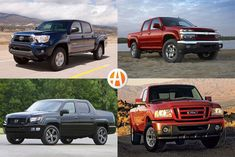 From their ability to haul stuff to their off-road prowess, midsize pickups are inherently useful. Here are five used midsize pickups under $15,000. Tacoma For Sale, Ford Ranger For Sale, 2011 Toyota Tacoma, Chicago Winter, Honda Ridgeline, Chevrolet Colorado, Rear Wheel Drive, Creature Comforts, Fuel Economy