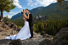 destination wedding || Banff and Lake Louise