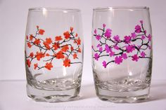 Wine Glass Painting Patterns | Glass Painting – Glasses | Albergo Dreams