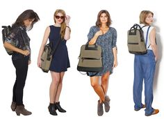 The Bartaile Journey bag converts from backpack to messenger to tote.