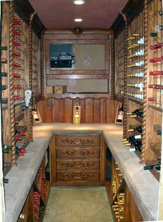 wine cellar--See?  It doesn't have to be big!-L