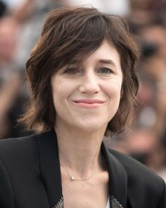Working her signature French girl chic to attend the Ismael's Ghosts photocall, Charlotte Gainsbourg debuted a new effortlessly cool crop , but of course.