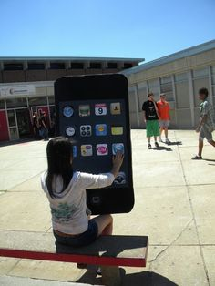 I love this idea!  Have students learn about scale and proportion creating enlarged objects.
