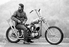 scott pommier bikes knucklehead harley photo