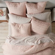 LC Lauren Conrad Frayed Edge Coverlet or Shams Kids Comforter Sets, Bedroom Comforter Sets, Pink Bedding, Small Room Bedroom, Home Decor Bedroom, Bedroom Ideas, Dorm Room, Bedroom Retreat, Master Room