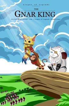 The Lion King x League of Legends Gnar x Rengar x Wukong
