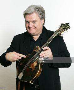 Ricky Skaggs with Bill Monroe's mandolin.