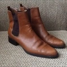 "Selling this ""LAUREN RALPH LAUREN KATHERINE LEATHER ANKLE BOOTS"" in my Poshmark closet! My username is: backbend31. #shopmycloset #poshmark #fashion #shopping #style #forsale #Ralph Lauren #Boots"