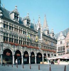 Het Raadhuis, Ypres, België