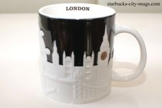 RELIEF MUGS | Starbucks City Mugs