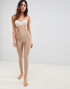 0b39f38b5181e Spanx Suit Your Fancy open bust shaping catsuit in broadway beige Latest  Bra