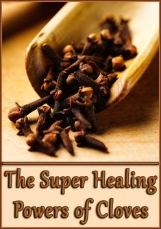 """Cloves are one of the highly prized spices, widely recognized all over the world for their medicinal and culinary qualities. The spices actually are the """"flower buds"""" from evergreen rain-forest tree native to Indonesia. Healthy Diet Recipes, Healthy Tips, Healthy Habits, Herbal Remedies, Health Remedies, Natural Remedies, Cloves Benefits, Health World, Health And Nutrition"""