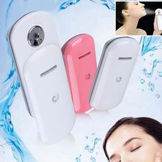 Beauty Nano Moisturizing Spray Instrut Portable Handy Mist Hydrating Water Sprayer Device For Face Skin Care