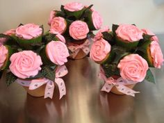 Mother's Day cupcake bouquets!