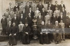 - In this undated collect photograph courtesy of the Jesuit General Curia in Rome, a young Jorge Mario Bergoglio poses for a group picture at his primary school in Buenos Aires, Argentina. The...