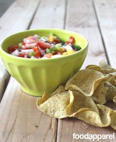Strawberry Nectarine Salsa: Classic Style | Food Apparel