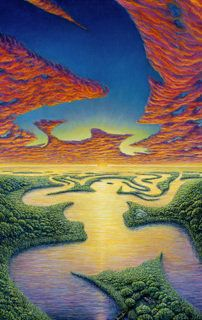 Mother Earth & Father Sky ~ Artwork by Mark Henson ♥♥