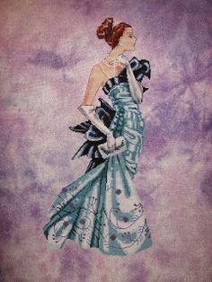 MY CROSS STITCH: Lady Alexandra By Heidi