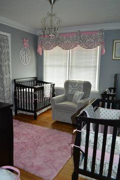 Our triplet nursery!