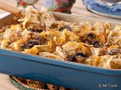 Amish Chicken Casserole - This chicken casserole recipe is one of our site's most popular Amish dinner bakes. It only takes 10 minutes to prep and 30 minutes to cook, so you know you'll have supper on the table in no time.