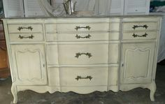 PAINT to ORDER. French Country Sideboard Buffet.  Etsy.