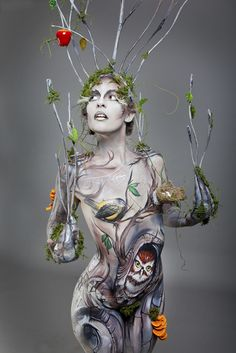 Body painting by the amazing Ambah