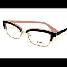 b81932852b6 Selling this Prada eyeglasses in my Poshmark closet! My username is   Designer sunglasses and Eyeglasses