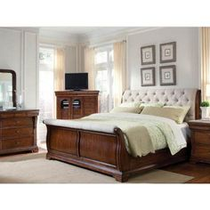 Margaux Sleigh Bedroom Collection - http://delanico.com/bedroom-sets/margaux-sleigh-bedroom-collection-512114586/