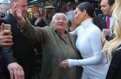 Image from http://i4.mirror.co.uk/incoming/article5506575.ece/ALTERNATES/s615/Kim-Kardashian-meets-and-hugs-and-gets-kisses-from-her-oldest-Armenian-fan-that-waited-12-hours-a-day-to-finally-see.jpg.