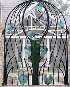 "Vega Metals Inc specializing in custom decorative and artistic metalwork including,railings,gates,art/furniture,sculpture and ornamental ironwork""."