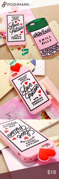 Love Potion / Chill Pills Phone Case Love Potion / Chill Pills Phone Case IPhone 6s, 6Plus, 6sPlus, 5/5s @Me and a separate listing with the case that you want will be created. Accessories Phone Cases
