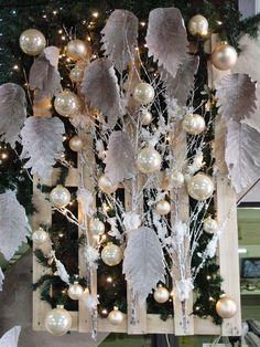 Paesaggio innevato idea creativa per vetrina di natale for Casine di legno prezzi