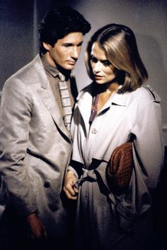 1980 - Richard Gere and Lauren Hutton in the film American Gigolo, for which Armani designed the costumes.