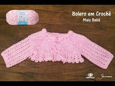 Exceptional Stitches Make a Crochet Hat Ideas. Extraordinary Stitches Make a Crochet Hat Ideas. Crochet Yoke, Crochet Baby Cardigan, Baby Girl Crochet, Crochet Baby Clothes, Crochet For Kids, Crochet Hats, Vestidos Bebe Crochet, Baby Pullover, Easy Crochet Patterns