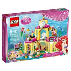 Kenzie- LEGO® Disney Princess™ Ariel's Undersea Palace 41063 : Target