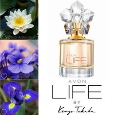 #Perfumes ID cards: #Avon LIFE by #Kenzo #eaudeParfum for her. #Review and olfactory notes. #KenzoTakada exclusively for @avoninsider. #AvonCosmetics #floral