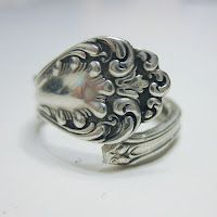 Vintage spoon rings