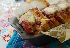 Ciao a tutti, ecco una ricettina veloce veloce da portare in tavola stasera: il Pane in Cassetta farcito. Io l'ho riempito di tanti buoni salumi e formaggi