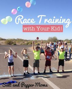 Race Training With Your Kid! How to have an awesome experience training for a 5K with your kiddo.