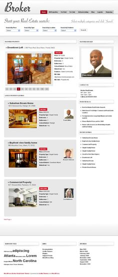 Broker WordPress Real Estate Theme