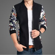 Find More Jackets Information about Jacket Print Men 2015 New Men Casual Jacket Woolen Coat Slim Patchwork Fashion PU Leather Sleeve Spring Mens Jackets and Coats,High Quality jacket pu,China coat jacket men Suppliers, Cheap coat tail jacket from E-Express on Aliexpress.com