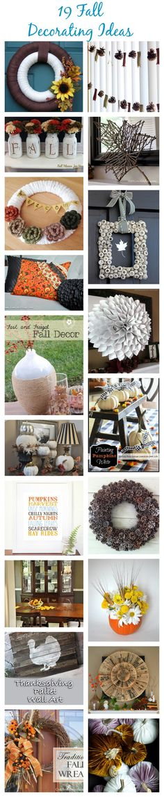19 Gorgeous Fall Decorating Ideas