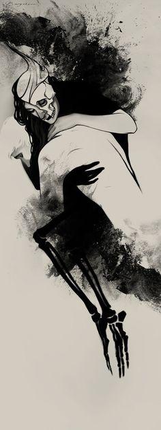 Hel's Embrace by *Sash-kash on deviantART