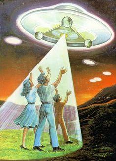 take us - (volunteer)(abduction)(ufo)(painting)