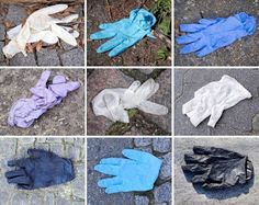 Not only is it a recycle mess it's a social mess! People are afraid of the contaminants and just tossing them everywhere. In shopping carts on the street, in the parking lots. Reuse, Upcycle, Recycling, Shopping Carts, Gloves, Creative, Diy, Street, People