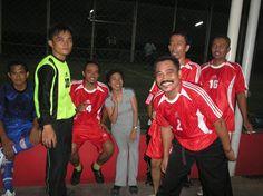 w/ a team
