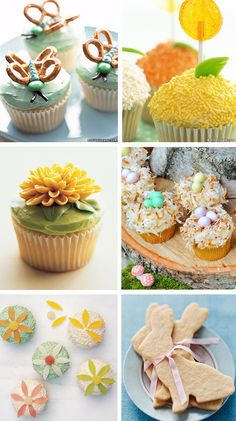 What cute, girly cupcakes! I could never make that flower, but the butterfly is a possibility.