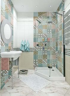 Eclectic Bathroom Ideas: Beautiful Design Inspirations for You Design Wc, Bathroom Design Layout, Best Bathroom Designs, Layout Design, House Design, Bathroom Ideas, Bath Design, Floor Design, Design Ideas