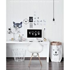 Top 10 Stunning Home Office Design - Site Home Design Home Office Design, Home Office Decor, Home Decor, Office Ideas, Office Decorations, Office Style, Home Interior, Interior Design, Workspace Inspiration