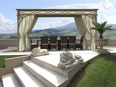 Gazebo in ferro LUXURY HOME Linea Lusso by UNOSIDER